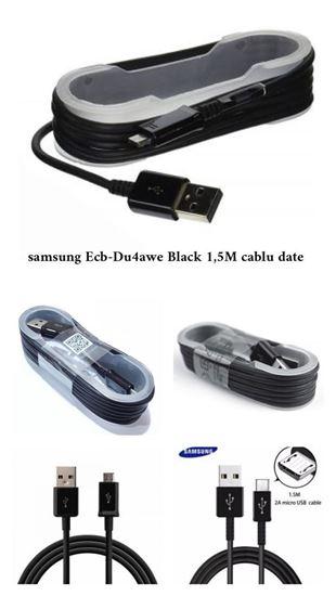 Imagine Original-1,5M -ECB-DU4EWE-Micro-Usb-Sync-Data-Cable-Charger-BLACK