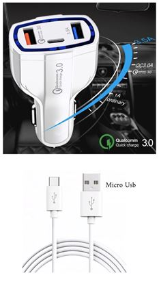 Imagine FAST CHARGERS 12V/3.5A +CABLU DATE MICRO USB   10+1  GRATIS