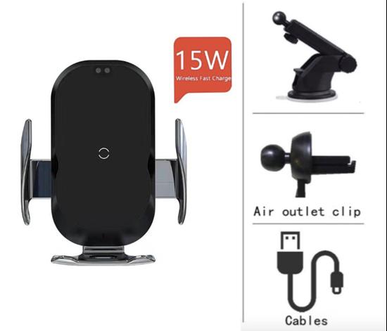 Imagine Incarcator Wireless  Auto,smart sensor, E-smartgadget ,15w,
