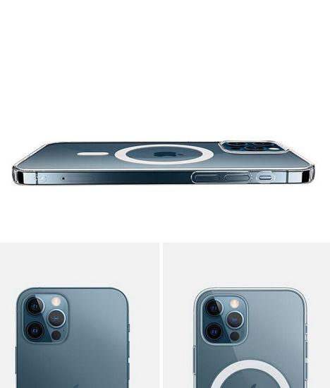Imagine Husa De Protectie Clear Case MagSafe Pentru IPhone 12