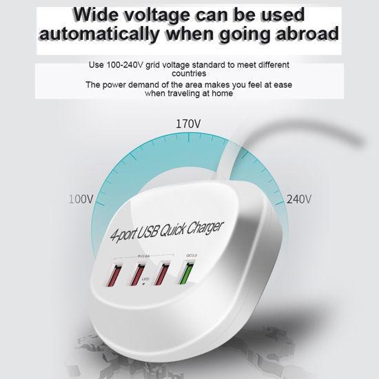 Imagine Incarcator Retea Fast Charge 4port Usb ,40W