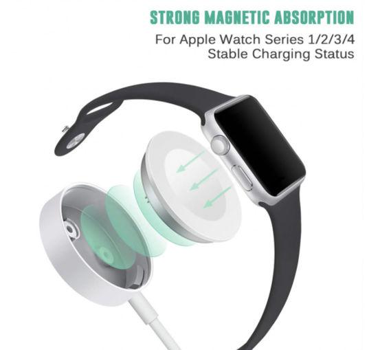 Imagine Cablu date incarcare Magnetic  pentru Apple Watch  USB-A ,2M,BULK
