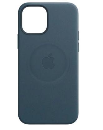 Imagine Husa de protectie Apple Leather Case MagSafe pentru iPhone 12 ProMax ,BALTIC BLUE