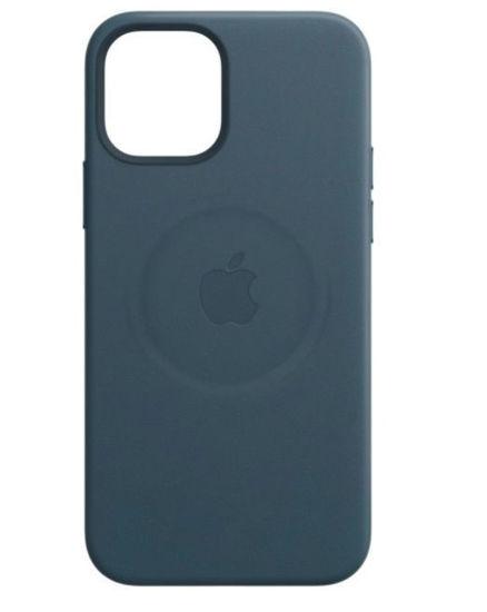 Imagine Husa de protectie Apple Leather Case MagSafe pentru iPhone 12/ 12 Pro,BALTIC BLUE